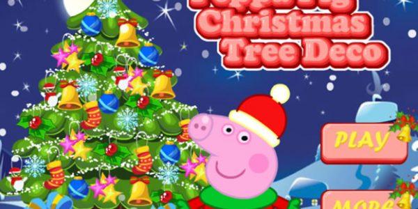 Peppa karácsonyfája