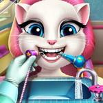 Angela cica fogorvosnál