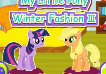 Téli én kicsi pónim öltöztetős 3