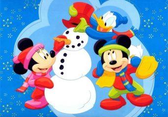 Karácsonyi Disney kirakó