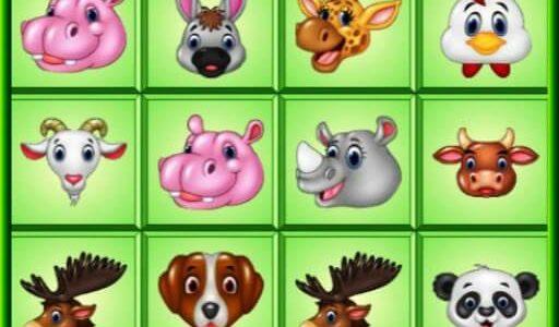 Kris állatos mahjong